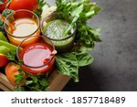 Delicious Vegetable Juices And...