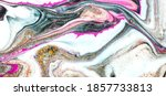 swirls of marble. abstract... | Shutterstock . vector #1857733813