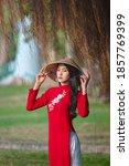 Portrait Of Vietnamese Girl...