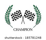 racing champion 3 | Shutterstock . vector #185781248