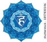 vishuddha   the fifth guttural...   Shutterstock .eps vector #1857830146
