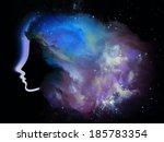 girls of never series.... | Shutterstock . vector #185783354