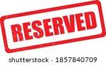 reserved. grunge vintage... | Shutterstock .eps vector #1857840709