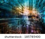 city lights series. creative... | Shutterstock . vector #185785400
