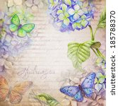 Watercolor Illustration With...