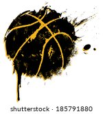 basketball print   suitable for ... | Shutterstock . vector #185791880