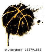 basketball print   suitable for ... | Shutterstock .eps vector #185791883