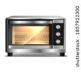 3d realistic vector microwave... | Shutterstock .eps vector #1857922300