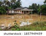 Flash Flood Damaged Houses In...