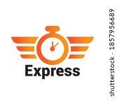 transport logistic express...   Shutterstock .eps vector #1857956689
