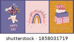 romantic hand drawn illustrated ...   Shutterstock .eps vector #1858031719
