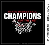 basketball  white and and red... | Shutterstock .eps vector #1858046479