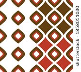 Abstract Seamless Pop Pattern...