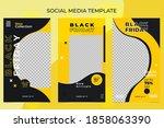vector of social media post... | Shutterstock .eps vector #1858063390