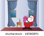 st nicholas in the room   Shutterstock .eps vector #18580891