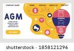 vector website design template .... | Shutterstock .eps vector #1858121296