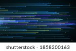 abstract simple dotted... | Shutterstock . vector #1858200163