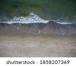 Waves Crashing On Beach.baltic...