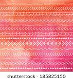 orange native american vector...   Shutterstock .eps vector #185825150