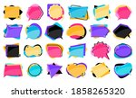quote remark mention quotation... | Shutterstock .eps vector #1858265320