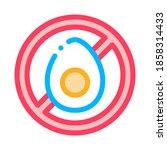 allergen free chicken egg...   Shutterstock .eps vector #1858314433