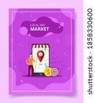 local seo market men stand...