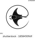 Stingray Logo. Isolated...