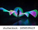 one person standing alone...   Shutterstock . vector #1858539619