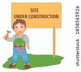 page under construction design. ...   Shutterstock .eps vector #1858565926