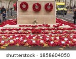 The Cenotaph Down Whitehall...