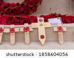 Tribute Wooden Crosses To Pay...