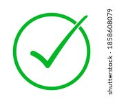 vector illustration of green...   Shutterstock .eps vector #1858608079