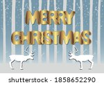 elegant greeting card with... | Shutterstock .eps vector #1858652290
