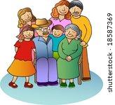 happy family | Shutterstock . vector #18587369