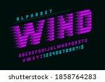 dynamic alphabet design ... | Shutterstock .eps vector #1858764283
