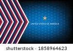 united states flag back ground | Shutterstock .eps vector #1858964623