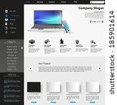 modern clean website template...