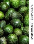 Avocado Background. Fresh Gree...