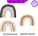 baby cute rainbow graphic... | Shutterstock .eps vector #1859070643