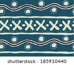 geometrical  pattern  | Shutterstock .eps vector #185910440