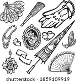 black and white vector. images... | Shutterstock .eps vector #1859109919