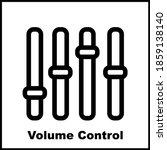 volume control icon template...