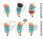 vector illustration set of...   Shutterstock .eps vector #1859142013