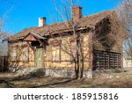 Wooden Abandoned House. Tallin...