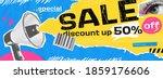 vector collage grunge banner....   Shutterstock .eps vector #1859176606