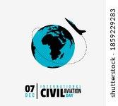 international civil aviation...   Shutterstock .eps vector #1859229283