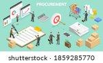 3d isometric flat vector... | Shutterstock .eps vector #1859285770