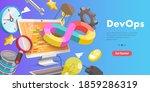 3d vector conceptual... | Shutterstock .eps vector #1859286319