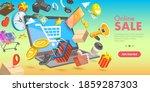 3d isometric flat vector... | Shutterstock .eps vector #1859287303