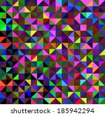 abstract vector geometric color ...